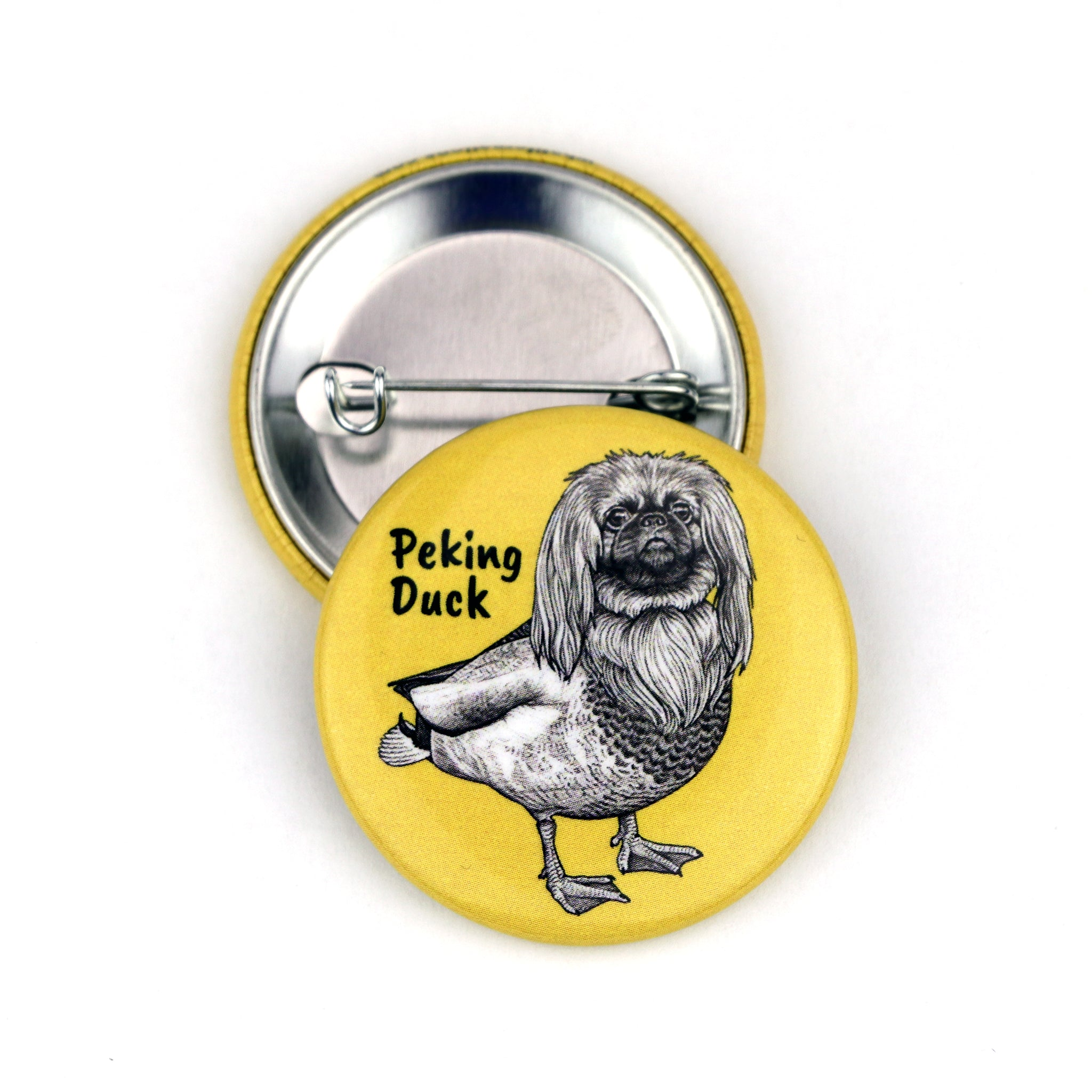 "Peking Duck 1.5"" Pinback Button"