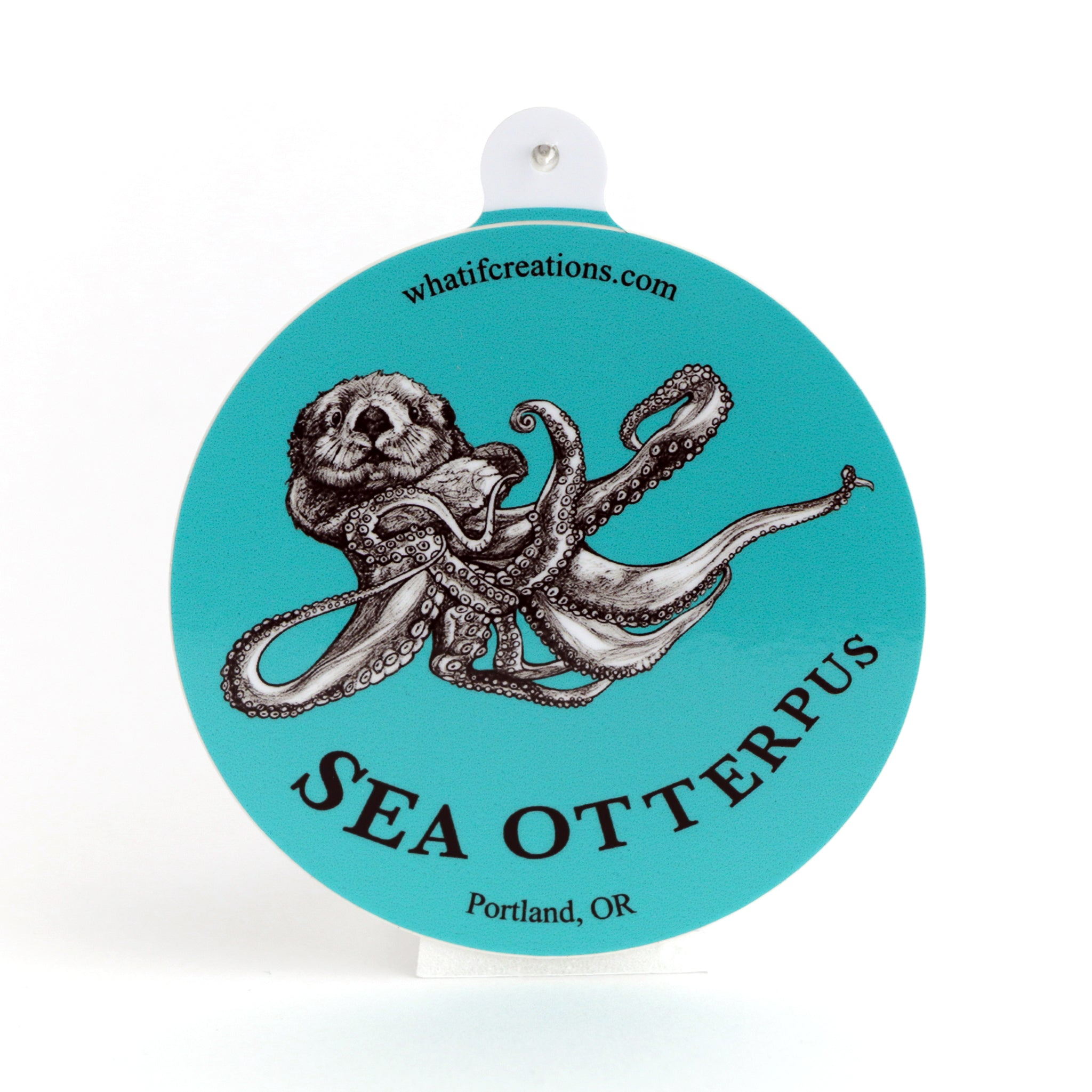 "Sea Otterpus 3"" Vinyl Sticker"