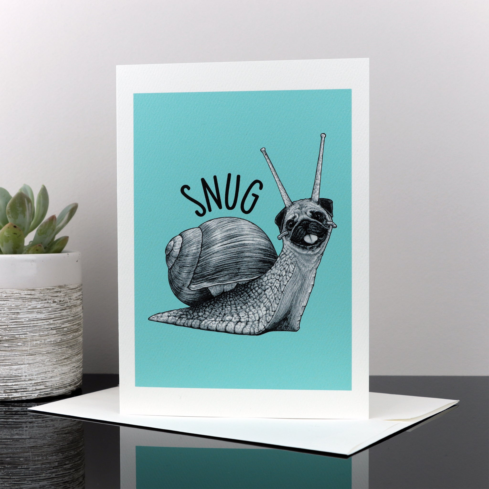 "Snug 5x7"" Greeting Card"