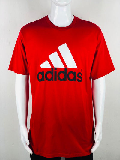 Indirecto plato intervalo  Adidas Strawberry Red T-Shirt With Signature Logo Design - Good Deals Store  Inc.