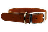 Beau Pets Leather Stitched Collars