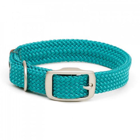 Mendota Double Braid Collars with Brush Nickel Hardware