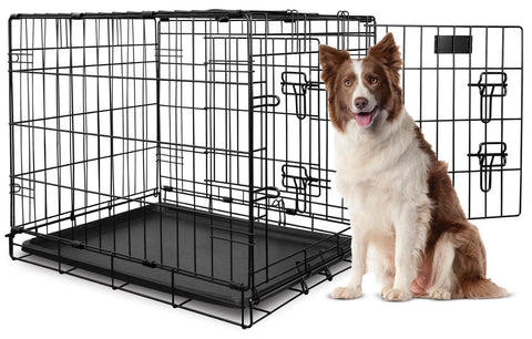 Double Door Dog Crate
