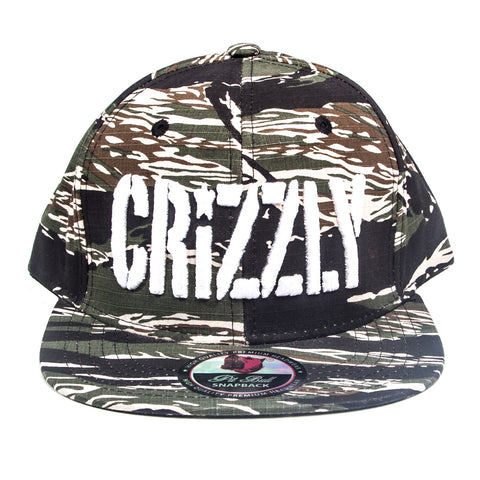 Crizzly Camo Snapback