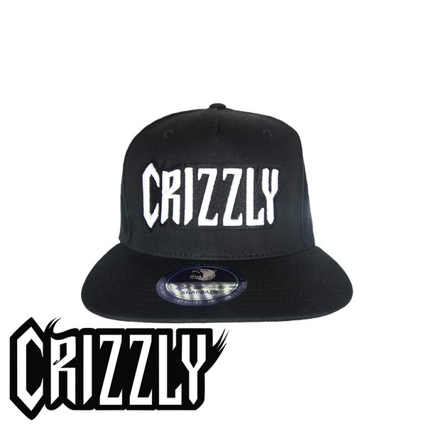 Black Crizzly Swagback Snapback