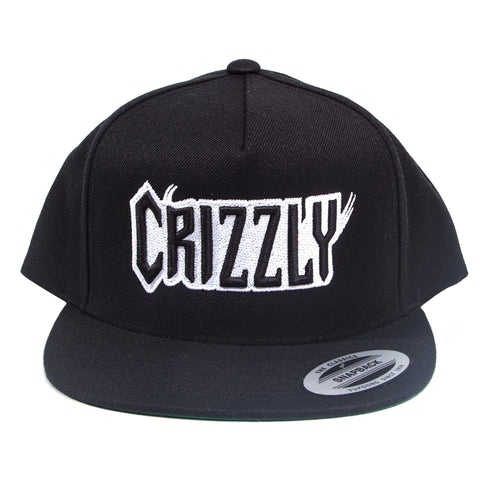 Black Crizzly Snapback