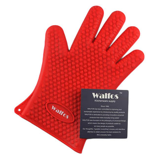 Fire Grab Silicone Gloves