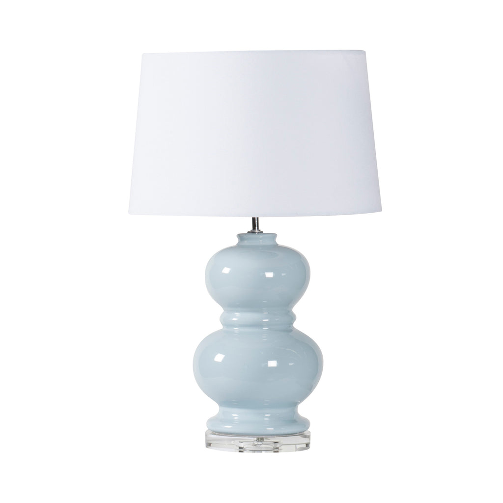 Powder Blue Ceramic Table Lamp