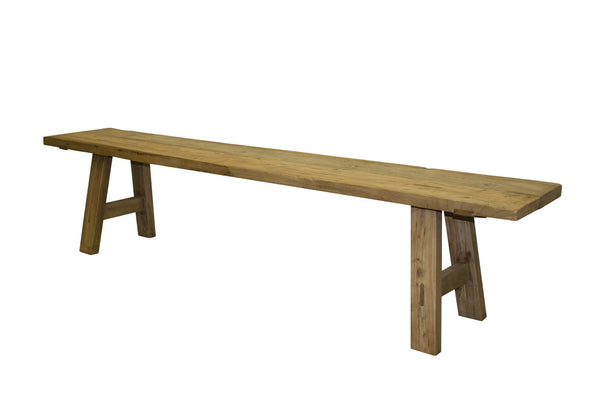 Reclaimed Elm Bench Seat