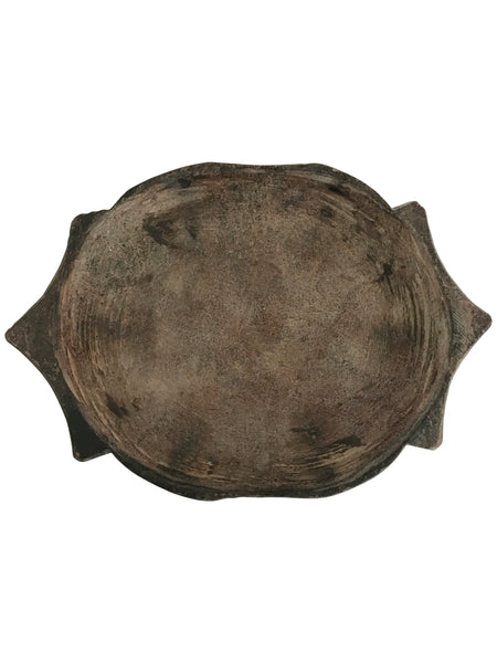 Kota Black old Stone Plates