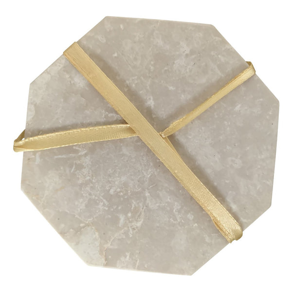 Hex Italian Botochino Marble Coasters (Set of 4)