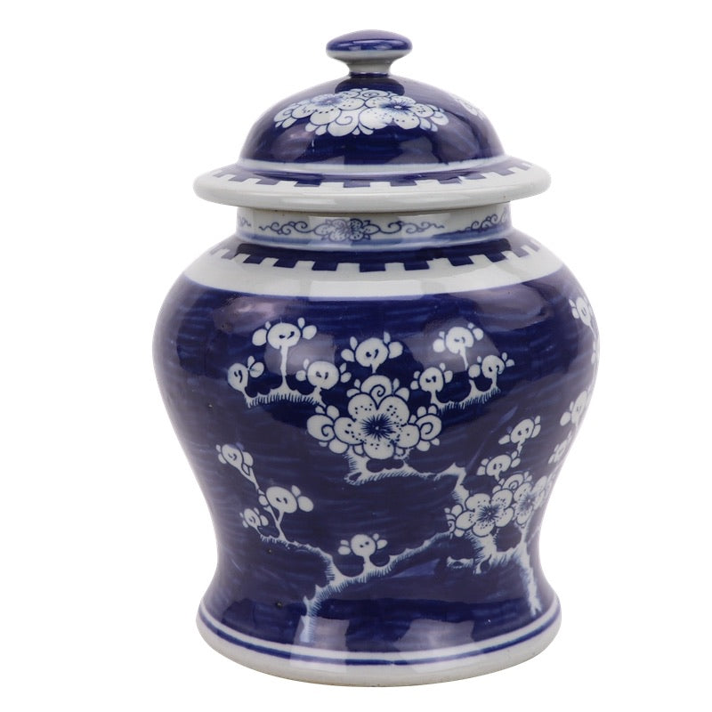 Traditional Blossom Ginger Jar