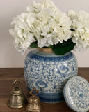 Hydrangea Spray (White Stem)