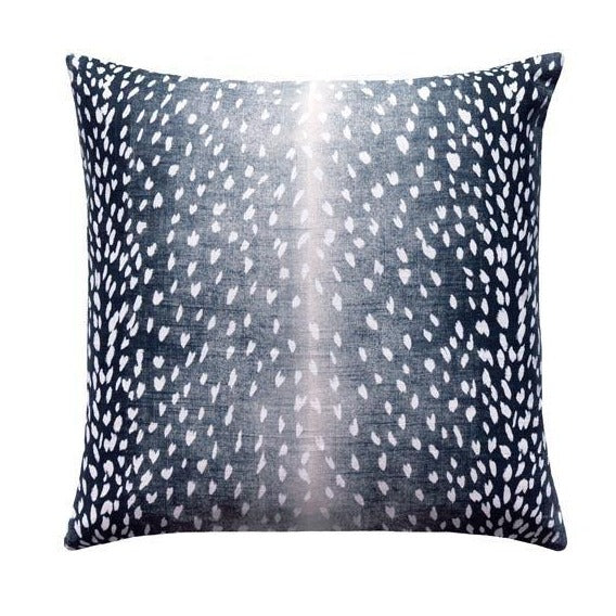 Navy Blue Deer Cushion