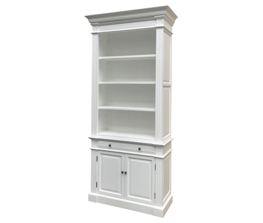 White Book Shelf (Single)