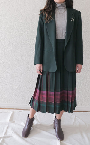 Pendleton Wool Pleated Skirt