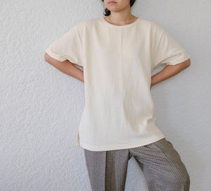 Oversized Ribbed Tee