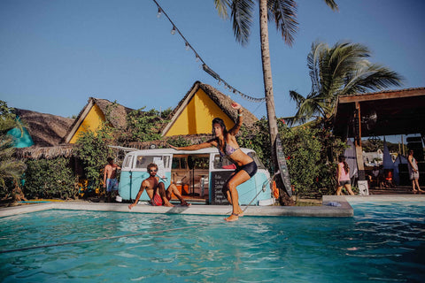 surf lessons at selina hostel in playa venao panama