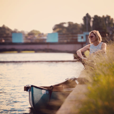 jennifer john pang wangle ceo and founder on bayou st. john in new orleans
