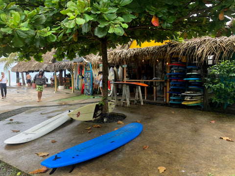 Playa Venao in Panama surf boards and board rentals