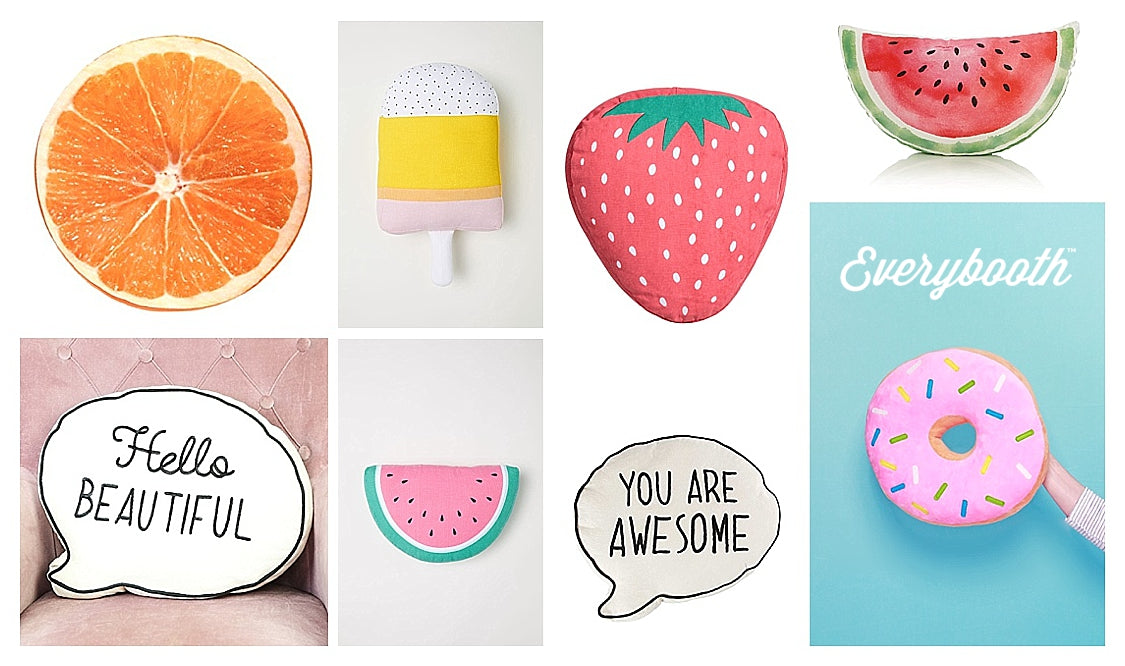 8 Of the Best Photo Booth Cushion Props - Everybooth