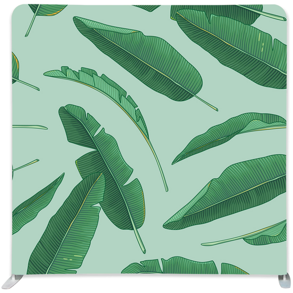 Banana Leaf Pillowcase Backdrop