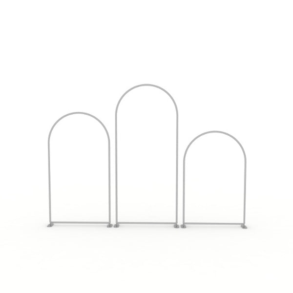 Set Of 3 Arch Backdrop Frames