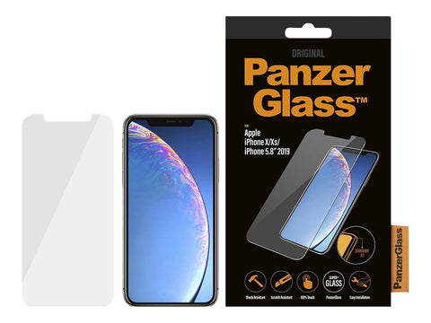 PanzerGlass Original Transparent/Gennemsigtig til Apple iPhone 11 Pro, X, XS