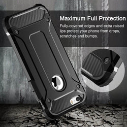 Hybrid Armour Shockproof Rugged Bumper Cover til Apple iPhone 7/8,X