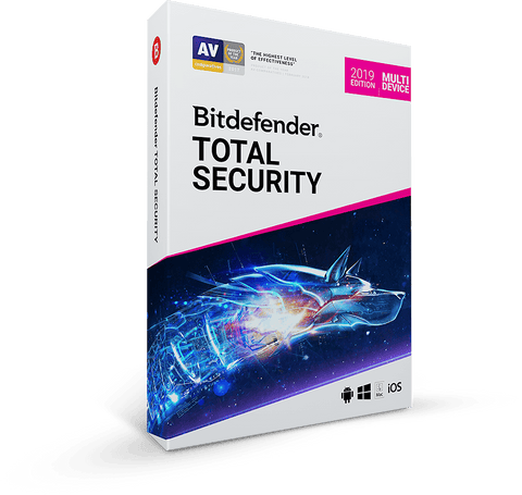 Bitdefender TOTAL SECURITY 2019(5 Enheder-1år)Elektronisk Levering