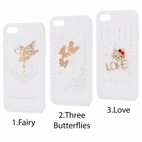 3D Diamond Silicone cover til Samsung Galaxy S8-Love