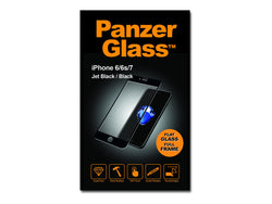 PanzerGlass Sort Transparent SKÆRMBESKYTTER Apple iPhone 6, 6s, 7