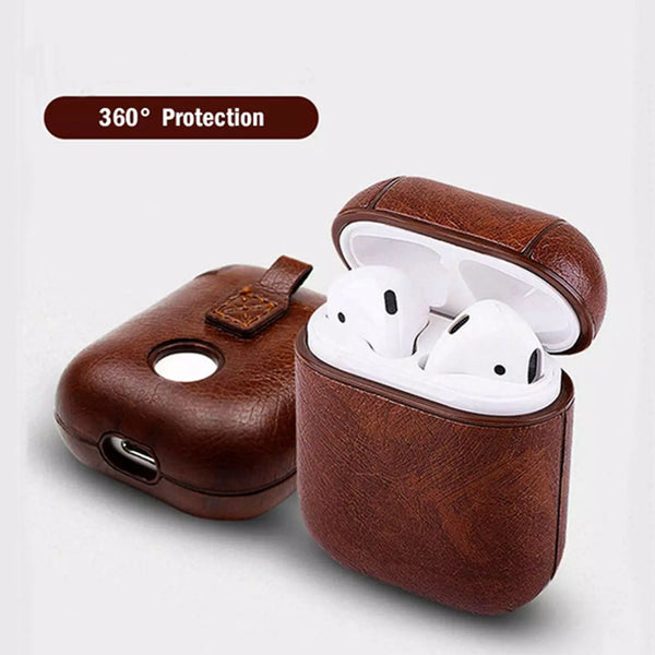 Apple airpods 2019 PU-Læder cover/case