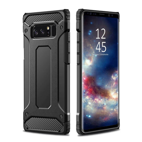 Hybrid Armour Shockproof Robust Bumper Case til Samsung Galaxy s9,note 9-Sort