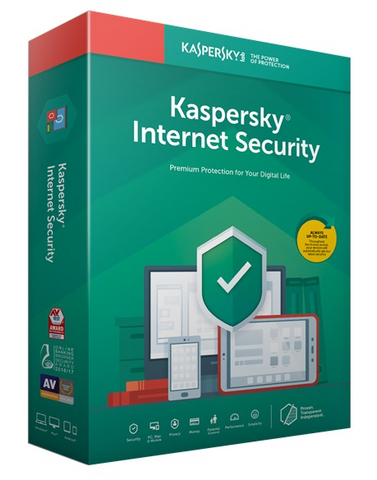 Kaspersky Internet Security 2019 1år