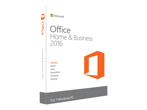 Microsoft Office Home and Business 2016 Licens 1 PC Windows-Download version