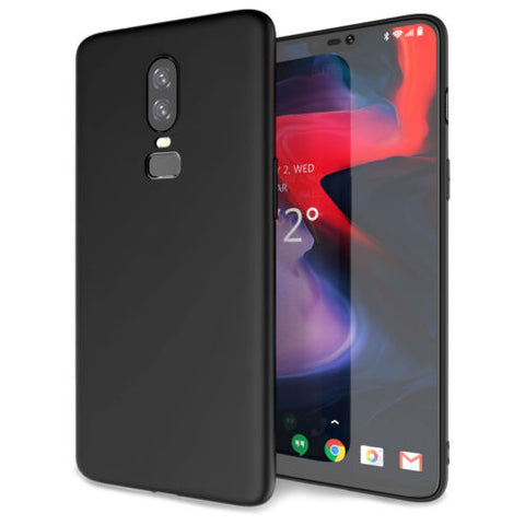 Slim Silicone cover til oneplus 6