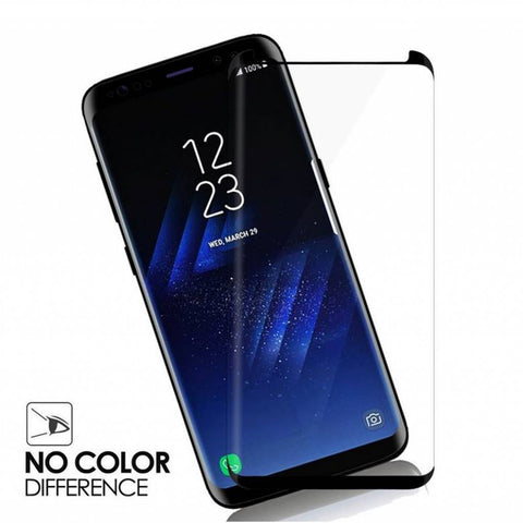 Tempered Glass Protector skærmbeskyttelse Galaxy S9 Plus-Sort