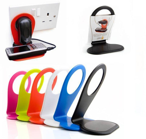 Wall Hanging Smartphone Mobile Holder Charger