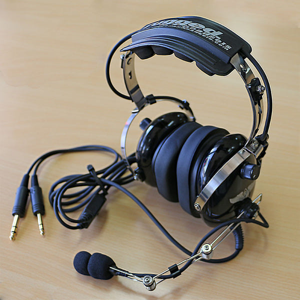 973689be3a6 RA454 Stereo General Aviation Pilot Headset - DEMO – Rugged Air