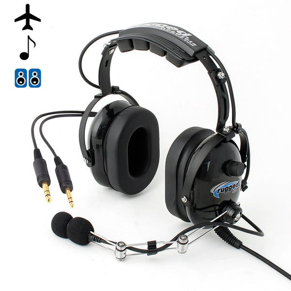 RA454 Stereo General Aviation Pilot Headset