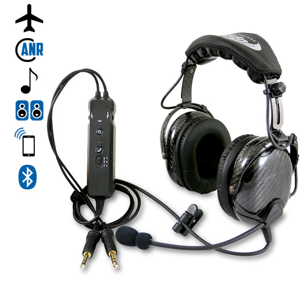 Rugged Air RA980 Wireless ANR General Aviation Headset