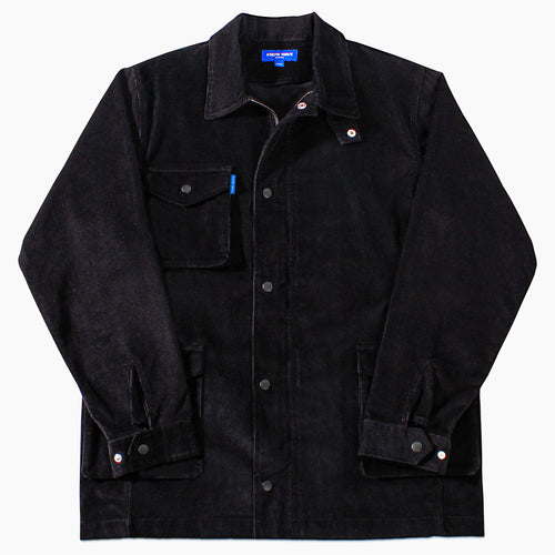 Corduroy Military Jacket