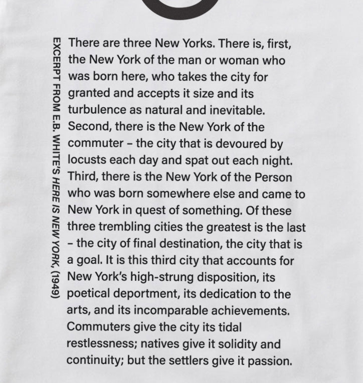 """Here is New York"" Long Sleeve T"
