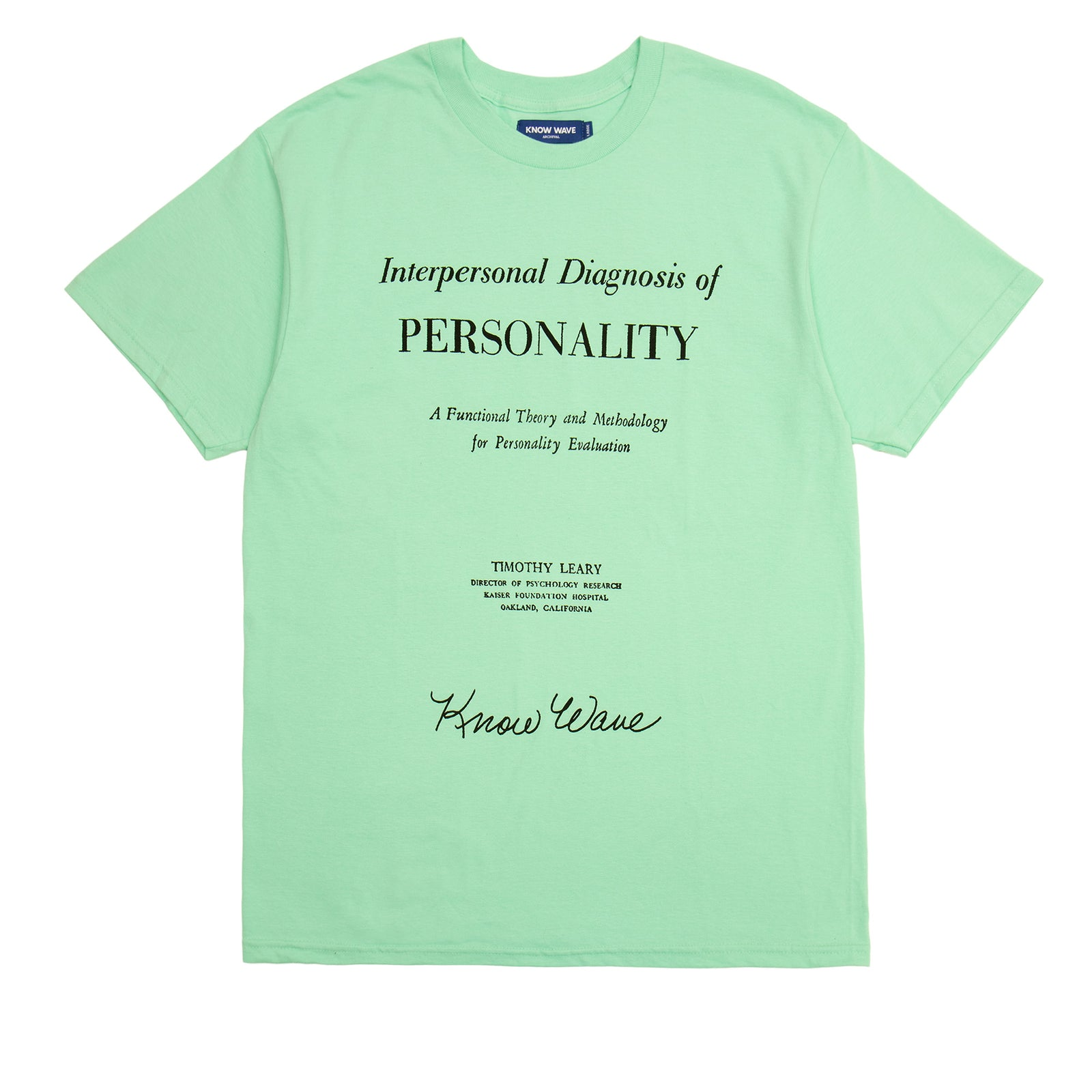 PERSONALITY EVALUATION T