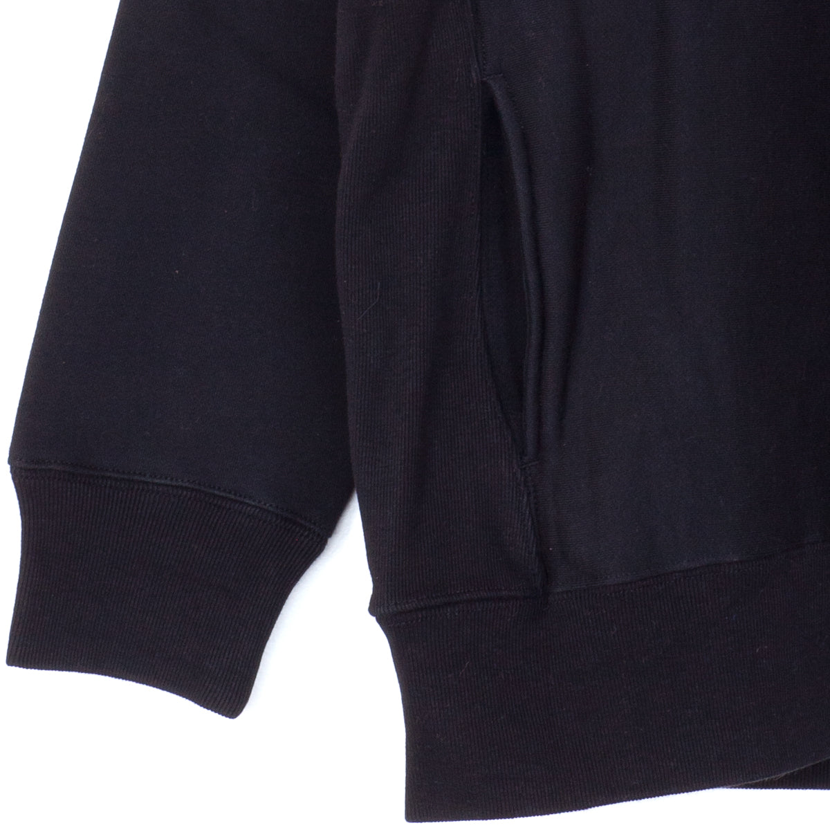 Mockneck Pocket Sweatshirt