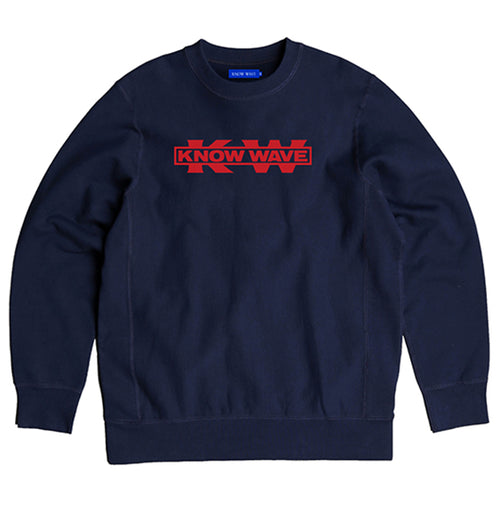 Service Sector Embroidered Crewneck
