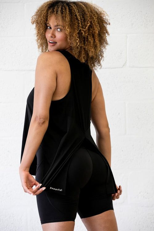 slit back training tank