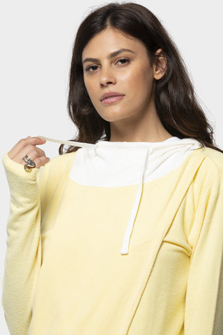 Destructed Affirmation V-Neck Sweater
