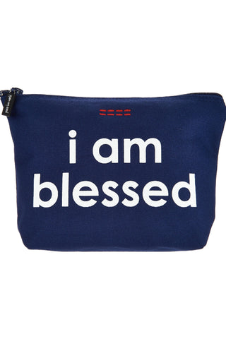 Affirmation Canvas Zipper Pouches